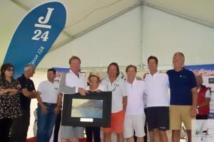 Team di FURIO (USA) premiato per la prima posizione Assoluta